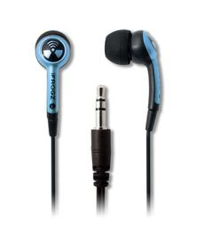 iFrogz Ear Pollution Plugz Sky Blue Earphones