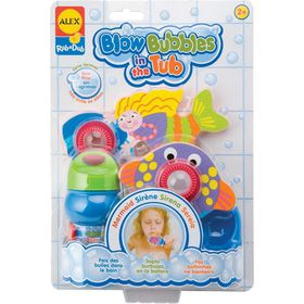 Alex Toys - Blow Bubbles In The Tub - Mermaid