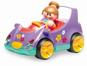 Tolo Toys - First Friends Girls Car Set - Pastel