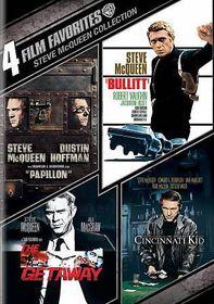 4 Film Favorites:Steve Mcqueen Collec - (Region 1 Import DVD)