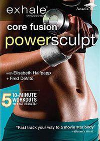 Exhale:Core Fusion Power Sculpt - (Region 1 Import DVD)