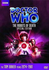 Doctor Who:Ep 90 the Robots of Death - (Region 1 Import DVD)