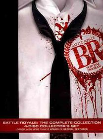 Battle Royale:Complete Collection - (Region 1 Import DVD)