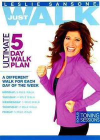 Leslie Sansone:5 Day Walk Plan - (Region 1 Import DVD)