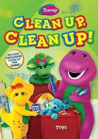 Barney:Clean up Clean up - (Region 1 Import DVD)