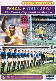 Brazil V Italy 1970 World Cup - (Import DVD)