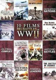 10 Film Big Battle of Wwii Volume 1 - (Region 1 Import DVD)