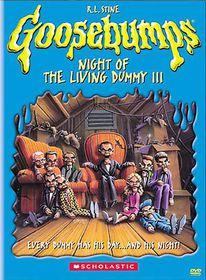 Goosebumps:Night of the Living Dummy - (Region 1 Import DVD)