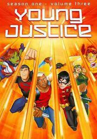 Young Justice:Season One Volume Three - (Region 1 Import DVD)