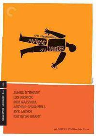 Anatomy of a Murder - (Region A Import Blu-ray Disc)