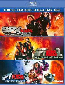 Spy Kids Triple Feature - (Region A Import Blu-ray Disc)