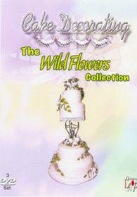 Cake Decorating Wild Flowers (3 Discs) - (Import DVD)