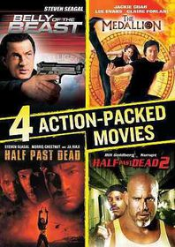 4 Action Packed Movies Collection - (Region 1 Import DVD)