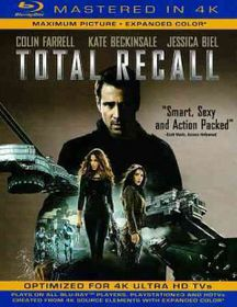 Total Recall (2012) (4K Mastered) - (Region A Import Blu-ray Disc)