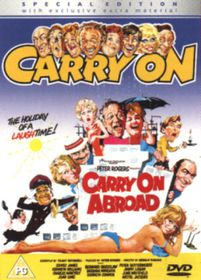 Carry On Abroad (Special Edition) - (Import DVD)
