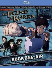 Legend of Korra:Book One Air - (Region A Import Blu-ray Disc)
