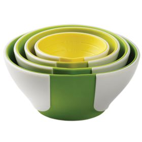 Chef'n - Sleekstor Pinch and Pour Prep Bowls