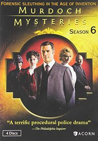 Murdoch Mysteries:Season 6 - (Region 1 Import DVD)