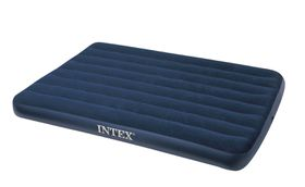 Intex - Classic Downy Double Air-Bed - Blue