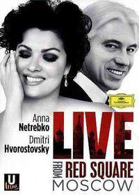 Netrebko, Anna / Dmitri Hrovotovsky - Live From Red Square Moscow (DVD)