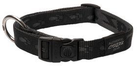 Rogz - Alpinist 20mm K2 Dog Collar - Black