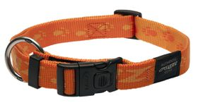 Rogz - Alpinist 25mm Dog Collar - Orange