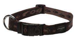 Rogz - Alpinist 25mm Dog Collar - Chocolate