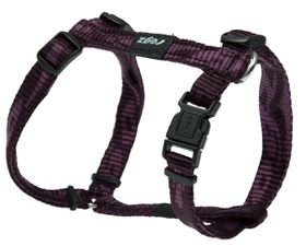 Rogz - Alpinist 11mm Dog H-Harness - Purple