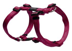 Rogz - Alpinist 20mm Dog H-Harness - Pink