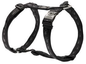 Rogz - Alpinist 25mm Dog H-Harness - Black
