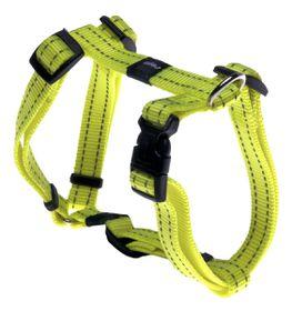 Rogz - Utility 16mm Dog H-Harness - Yellow