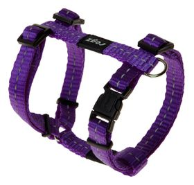 Rogz - Utility 11mm Dog H-Harness - Purple