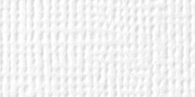 American Crafts White Textured Cardstock - 10 Sheets