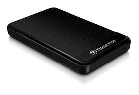 """Transcend 500GB USB3.0 Hard Drive 2.5"""" - Black"""