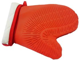 Thornbird - Padded Silicone Oven Glove - Red