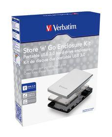 Verbatim Store 'n' Go 2.5'' Enclosure Kit USB 3.0 - Black