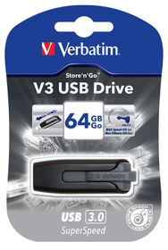 Verbatim Store 'n Go V3 64GB Flash Drive