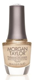 Morgan Taylor Nail Lacquer - Give Me Gold (15ml)
