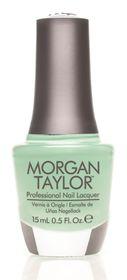 Morgan Taylor Nail Lacquer - Mint Chocolate Chip (15ml)
