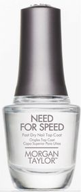 Morgan Taylor Top Coat - Need For Speed (15ml)