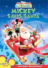Mickey Mouse Clubhouse - Mickey Saves Santa and Other Mouseketales - (Region 1 Import DVD)