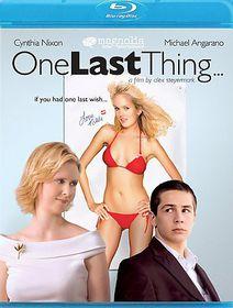 One Last Thing - (Region A Import Blu-ray Disc)