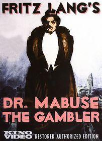 Dr. Mabuse the Gambler - (Region 1 Import DVD)