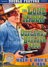 Outlaws of Boulder Pass - (Region 1 Import DVD)