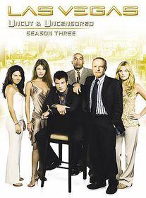 Las Vegas:Season Three (Uncut & Uncensored) - (Region 1 Import DVD)