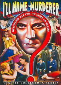 I'll Name the Murderer - (Region 1 Import DVD)