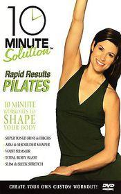 10 Minute Solution: Pilates Rapid Results - (Region 1 Import DVD)