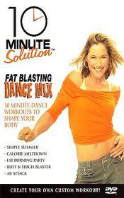 10 Minute Solution: Fat Blasting Dance Mix - (Region 1 Import DVD)