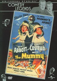 Abbott & Costello Meet the Mummy - (Region 1 Import DVD)