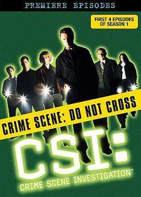 CSI:First Season Disc 1 - (Region 1 Import DVD)